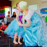 Frozen parties with Elsa