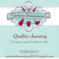 Upstairs Downstairs cleaning