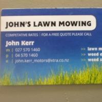 John's Lawnmowing