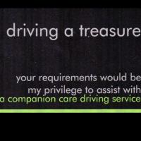driving a treasure