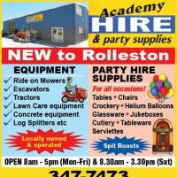 ACADEMY HIRE & PARTY SUPPLIES ROLLESTON