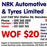 NRK Automotive & Tyres Limited