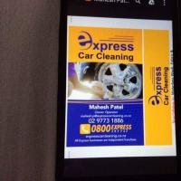 EXPRESS CAR CLEANING MOBILE SERVICES