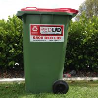 Red Lid Garden Bins & Bags and Redlid Skips