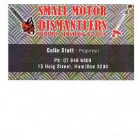 Small Motor Dismantlers