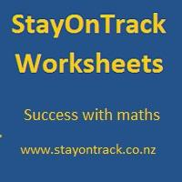 StayOnTrack Worksheets