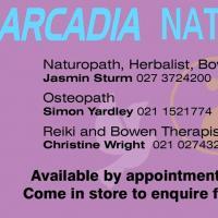 Arcadia Natural Health Store Warkworth