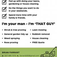 'That Guy' Gardening and Home Services