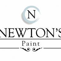 Newton's Chalk Paint Finish.