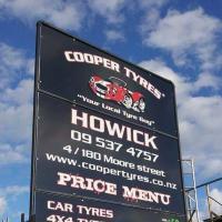 Cooper Tyres Howick