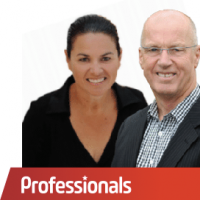 Napier Professionals - Renae Pocklington and Boyd Hawkins