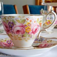 High Tea Hire - Vintage China Hirage Taradale