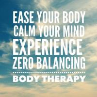 Zero Balancing - Unique body-mind therapy