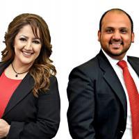 Karan Kaushal & Muntaha Nissan