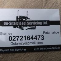On-Site Diesel Servicing Ltd.