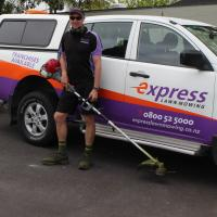 Express Lawn Mowing Hibiscus Coast