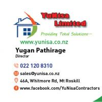 YuNisa Ltd.       Constructions Renovations and Gardening