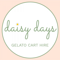 Daisy Days Gelato Cart