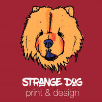 Strange Dog Print and Design
