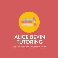 Alice Bevin Tutoring