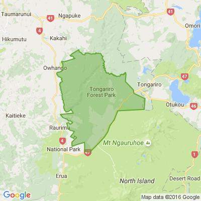 Tongariro Forest Park
